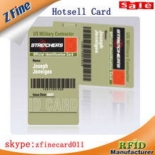 Fast Production pvc smart card/rfid 13.56MHz pvc card