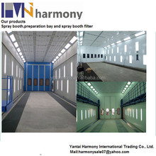 China Guangdong Yantai Harmony paint booth with water curtain for car workshop