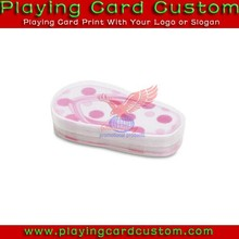 oval shoes shape playing cards