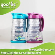 2015 Newest BPA Free 1.8L Clear Water Jug with 4pcs Cups