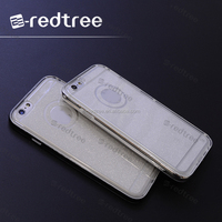 wholesale shinny tpu+pc two in one back cover case for iphone