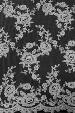 wowen wedding veil with beads