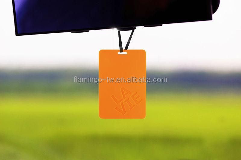 Brand perfume paper air freshener air freshener for car