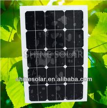 Amazing!Ready goods new energy fabric monocrystalline polycrystalline silicon flexible solar panel for 2015 SN-H45W