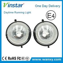 new design daylight guide car fog lights led drl light for bmw mini