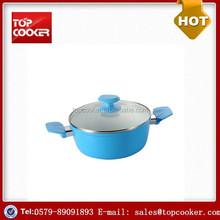 New Design Aluminium Forged ceramic Coating Casserole hot pot