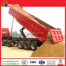 Factory direct sale Tri axle hydraulic dump trailer-dumper lorry series