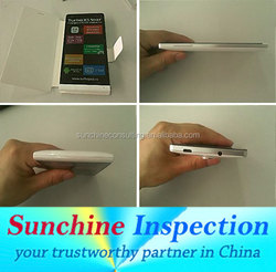 Professional QC Services for Consumer Electronics / Mobile Phones a Accessories Inspection Services in Shenzhen