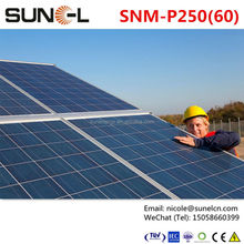 solar panel tempered glass 3.2mm with black frame