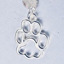 best friend necklace plain silver pendant