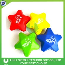 Wholesale Customized Logo Cheap PU Star