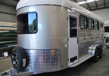 China made high quality horse trailer for 3 horses