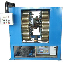 HIGH QUALITY DOUBLE PLATE CORELESS FIBER WINDING MACHINE