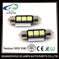 12v led festoon 36mm 5050 2smd canbus auto led