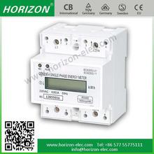 4 Module DDS238-4 ZN 4p din rail RS485/MODBUS-RTU solar parking meter