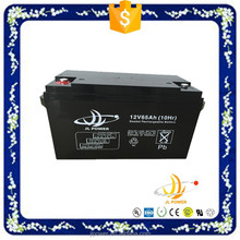 excellent quality factory price 12v solar battery 12v65ah for UPS/family use