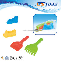Kids Beach Shovel and Rake Cute Sand Toy Castle Mold