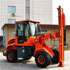 hydraulic piling machine with factory price