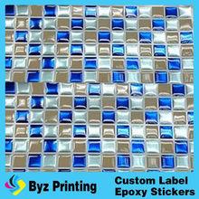 Fashionable hotsell epoxy material kitchen tile brick design