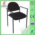 Sillas de comedor negro, aluminio sillas apilables, sillas de comedor
