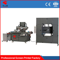 automatic labels automatic roll to roll silk screen printing machine