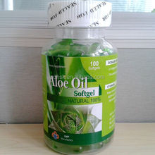health and beauty products----aloe vera soft gel