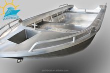 All welded aluminum fishing boat with CE certificate