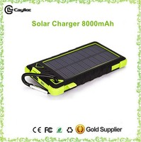 solar mobile phone charger,solar mobile power bank 8000mah for mobilephone