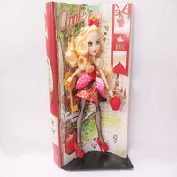 custom plastic toy Barbie doll with red bag and comb