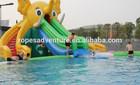 parque temático de espirrar elefante slide piscina de natação