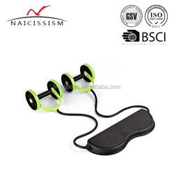 ab wheel roller with knee mat fitness exerciser