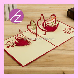 2016 wedding invitation card love marriage 3D invitation card 3d wedding card 3D-2