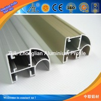 Name of aluminium extrusion for aluminium wardrobe,high quality polishing aluminium profile sliding wardrobe door OEM