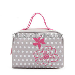 230D Polyester Waterproof Beautiful Cosmetic Bag