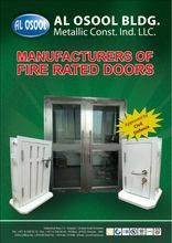bullet resistant proof door
