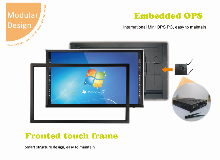 Chine infrarouge doigt moniteur cran tactile smart for Meilleur moniteur