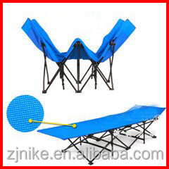 Best price and high quality cheap lightweight folding beach bed for whole sale