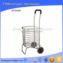 Guangzhou personal aluminum shopping cart folding