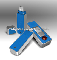 Best quality USB electronic lighter rechargeable for tabacoo promotion