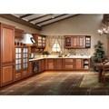 2014 oppein pp envuelto de gabinete de cocina gabinetes de madera de exportación guangzhou