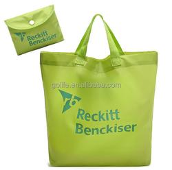polyester foldable bag, polyester shopping bag, polyester handle bag