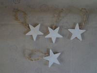custom wooden christmas tree ornaments star shped 6x6x0.7cm