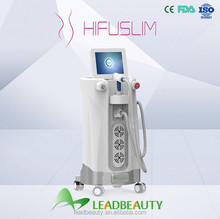 HIFU vertical ultrasound units for slimming