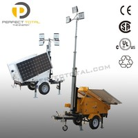 Solar Powered Light Tower Generator