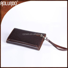 Stylish Men Leather Brown Purses