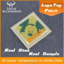 Famous brand luggage logo / custom garments badge