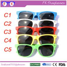 Wholesale Promotion Custom Logo Wayfarer Sunglasses