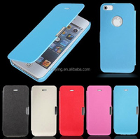 alibaba wholesale magnetic leather flip case for iphone 5/5s