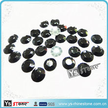 3mm Black Hot fix Rhinestuds