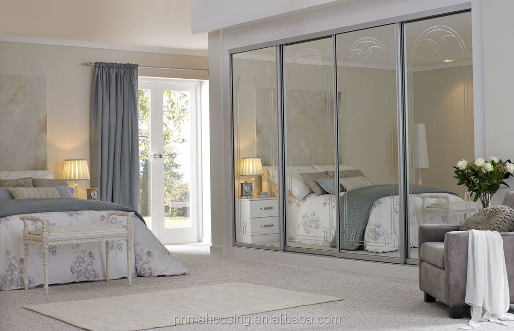 Wardrobe cabinet bedrooms wardrobe with mirror very cheap for Very cheap bedroom sets